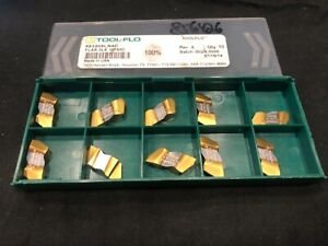 Tool flo 553208ln4c Threading Inserts Flas 3l8 10 Pack Factory Sealed