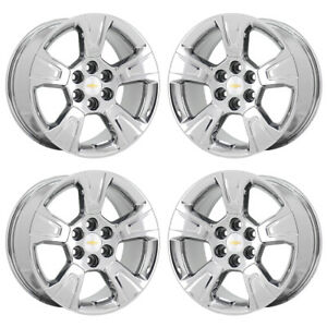 17 Chevrolet Colorado Truck Pvd Chrome Wheels Rims Factory Oem 2018 2019 5671