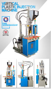 Vertical Plastic Patch Cord Injection Molding Machine Production Making Business