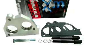 Obx Racing Sports Aluminum Throttle Body Spacer Fits 87 To 95 Chevy S10 4 3l Tbi