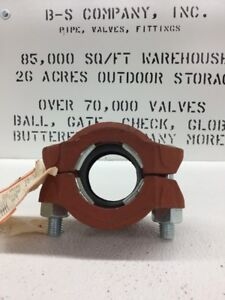 Gruvlok Fig 7005 Roughneck Plain End Pipe Coupling 2 Grooved Pipe Fitting