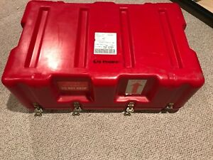 Hardigg Pelican Red Hard Storage Crush Proof Travel Shipping Case 33 x21 x12 2