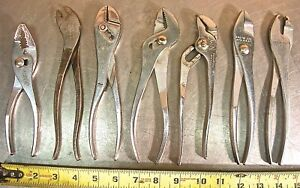 Proto Tools 7 Piece Mixed Plier Set 203 218 234 239 242 252 252