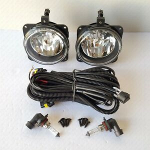 For 2002 2003 2004 Ford Focus Svt Clear Lens Fog Driving Light With Wiring Bulbs
