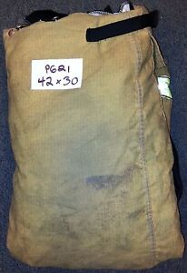 42x30 Pants Firefighter Turnout Bunker Fire Gear W Liner Globe Traditional P621
