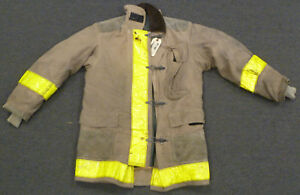 40x35 Firefighter Jacket Coat Bunker Turn Out Gear Globe J612