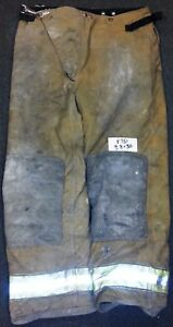 38x30 Pants Firefighter Turnout Bunker Fire Gear Globe Traditional P751
