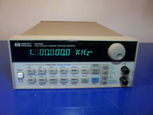 10529 Hp 33120a 15 Mhz Function Arbitrary Waveform Generator