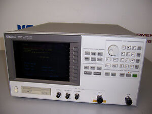 8467 Hp 4352a Vco pll Signal Analyzer 10mhz 3ghz