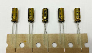 5x Nichicon Muse Fg 10uf 50v Fine Gold Audio grade Capacitor Usa Seller