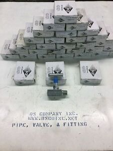 Kf Industries Needle Valve 1 2 Npt 6000 Psi Steel