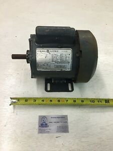 General Electric Ac Motor 1 4hp 1725rpm Single Phase