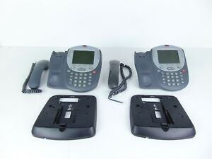 Avaya 5420 700339823 Ip Business Office Phone Lot Of 2 With Mount