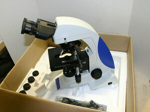 Fisher Micromaster Premier Compound Microscope 40 1000x Bs200