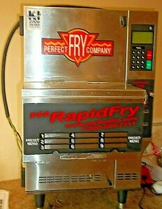 Commercial Perfect Fry Ventless hoodless Countertop Deep Oil Fryer Model Pfa7200