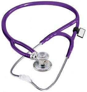 New Mdf Instruments Purple Rappaport X 2 in 1 Deluxe Sprague Stethoscope