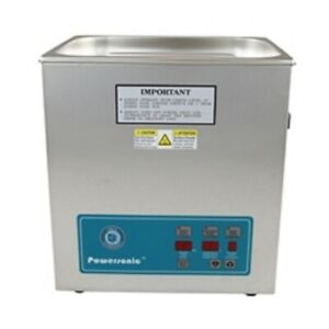 New Crest Powersonic P1100d 45khz Ultrasonic Cleaner With Power Control