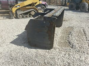 88 Snow Pusher Box Skid Steer Case Bobcat Ffc With Pullback 200 00 Shipping