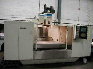 Fadal Vmc 6030 Cnc Vertical Machining Center 1993 One Owner Inplant Under Power