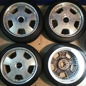 4 18 Ssr Vienna Dish Jdm 4x114 3 5x114 3 Wheels 18x8 49 Rare Full Face Rims