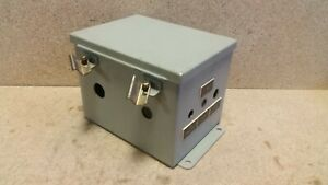 Hoffman Electrical Enclosure Panel A8066ch 8 X 6 X 6 S14