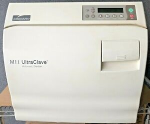 Midmark Ritter M11 Ultraclave Instrument Sterilizer Autoclave M11 020 With Trays