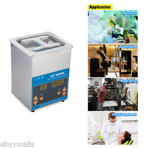 Professional Cleaning 2l Digital Ultrasonic Cleaner Heater Timer Jewerly Dental