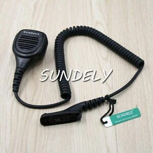Duty Heavy Hand shoulder Mic Speaker For Motorola Radio Xpr6300 Xpr6350 Xpr6380