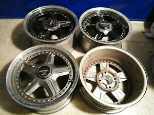 4 Impul R 701 701r Jdm Wheels 4x114 3 Rims 16x8 16x7 Rare Old School Racing