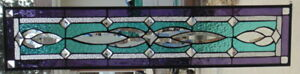 Stained Glass Transom Window Hanging 34 1 2 X 8