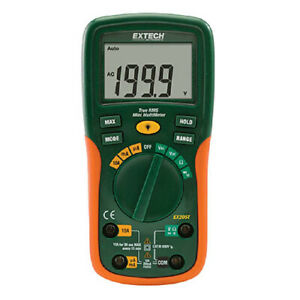 Extech Ex205t nist Truerms Autoranging Multimeter W Nist Calibration