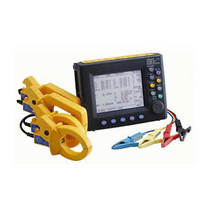Hioki 3169 21 01 500 Clamp On Power Hitester Kit With D a Outputs