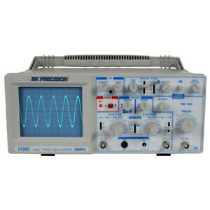 Bk Precision 2120c 30 Mhz 2 channel Dual Trace Analog Oscilloscope