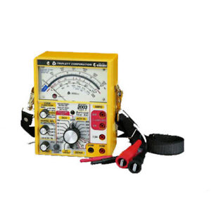 Triplett 2013 Railroad Tester With 60 Hz And 100 Hz Cab Filters