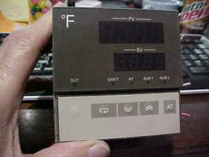 Omron E5ax af f Temperature Controller Used Cheap Free Ship