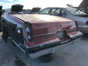 1986 Oldsmobile Cutlass Supreme Trunk Lid