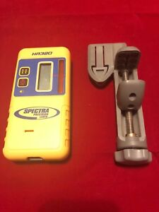 Spectra Precision Lasers Trimble Hr320 Hr 320 Receiver With C59 Rod Clamp