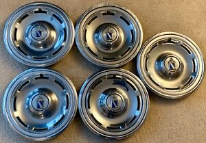 1978 1980 78 80 Buick Regal 14 Inch Hub Caps Set Of 5 One For The Spare Tire