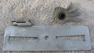 Unreal Squire Padlock Curtis Model 15 Key Cutter Nos Cams Carriages New New