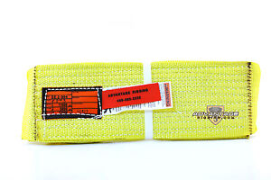 Ee2 904 X3ft Nylon Lifting Sling Strap 4 Inch 2 Ply 3 Foot Usa Made Package Of 4