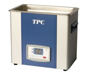 Ultrasonic Cleaner Uc 1000 Tpc Advanced Dental Dentsonic 10 6 Qt W basket new