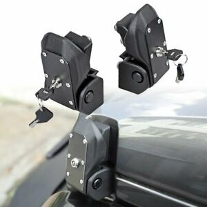 Hood Lock Latches Catch W Key For 2018 2019 Jeep Wrangler Jl Unlimited 2dr 4dr