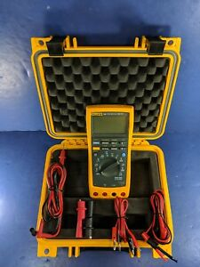 Fluke 189 Trms Multimeter Excellent Condition Screen Protector Case