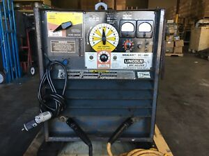 Lincoln Arc Welder Dc 400