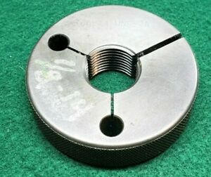 7 8 14 Unf 2a Thread Ring Gage 875 Go Only P d 8270 Free Shipping