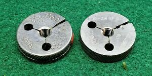 12 28 Nf 3 Thread Ring Gages 12 216 Go No Go P d s 1928 1906 Free Ship