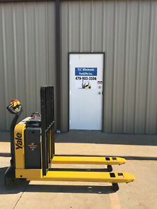 2013 Yale Electric Pallet Jack Model Mpw050 Forklift Walkie Only 927 Hours