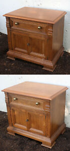Pair Vintage Antique Drexel Wood Wooden Dresser Night Stand Nightstand End Table