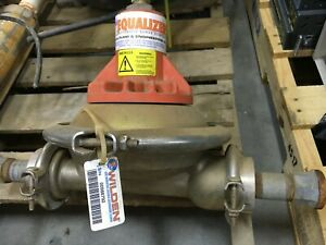 Wilden Equalizer Pump Engineering Co Automatic Surge Dampener