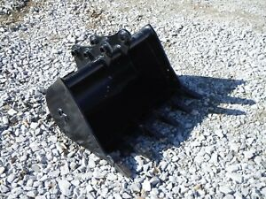 Takeuchi Tb125 Tb230 Mini Excavator 36 Cp Tooth Trench Bucket Ship 149